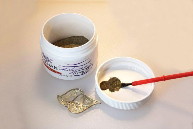 Russian Filigree Powdered Solder
