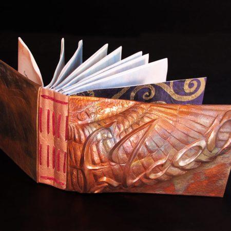 The Falcon, handmade artist book