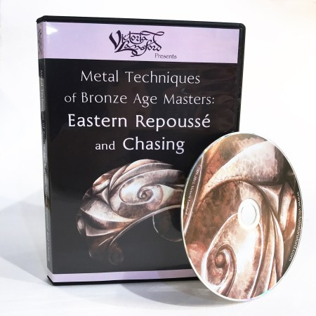 Eastern Repousse & Chasing DVD by Victoria Lansford