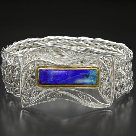 III, Russian filigree bracelet; photo by Pat Vasquez-Cunningham