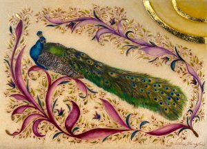 Peacock Splendor III by Victoria Lansford