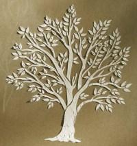 Plaster Stencil Miniature Tree  Walls Stencils, Plaster ...