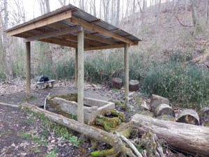 Pioneer Springs Trail Shelter