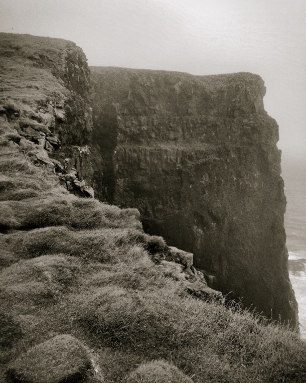Bjargtanger Cliff at Látrabjarg, the westernmost point in Europe.