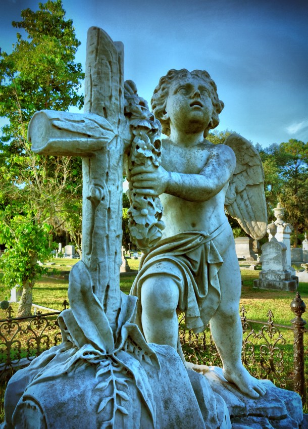 Day 27: Hillcrest Abbey Cemetery, Savannah, Georgia.