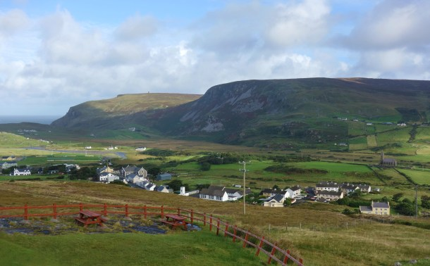 Glencolmcille village, County Donegal.