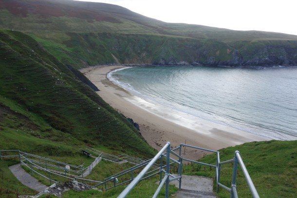 Silver Strand beach at Malin Beg, County Donegal