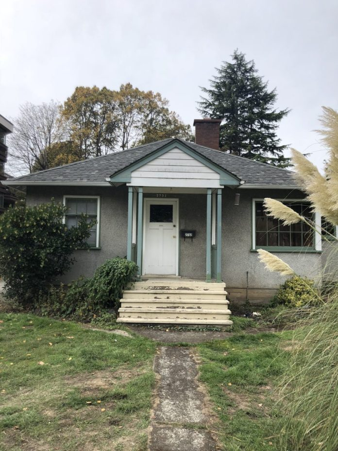 11 rental unit rezone and DP proposal across from Hillside Mall on a single family lot