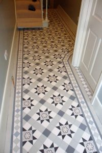 Victorian Style bathroom wall & floor tiles.North London ...