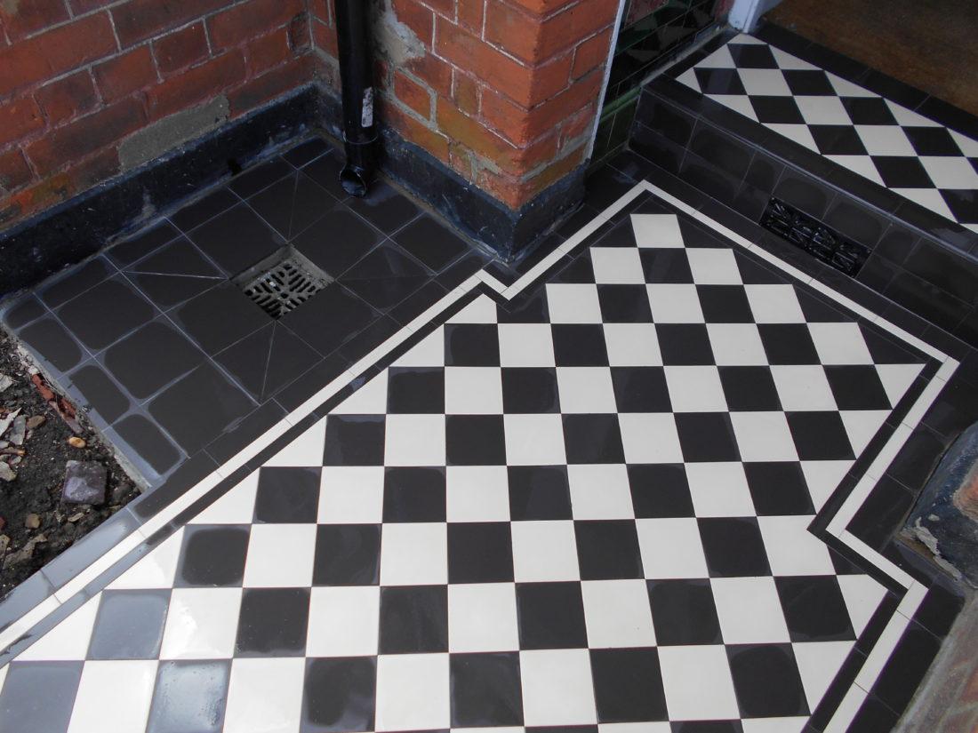 Victorian Tiles  Slate Garden NW2 London  Specialist