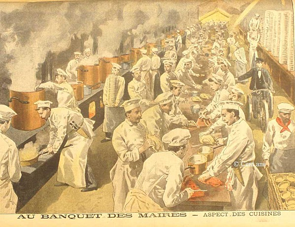 French food history  Victorian Paris