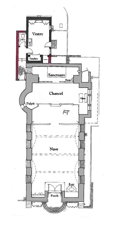 St Martin's Church, Blackheath, Surrey, by Charles