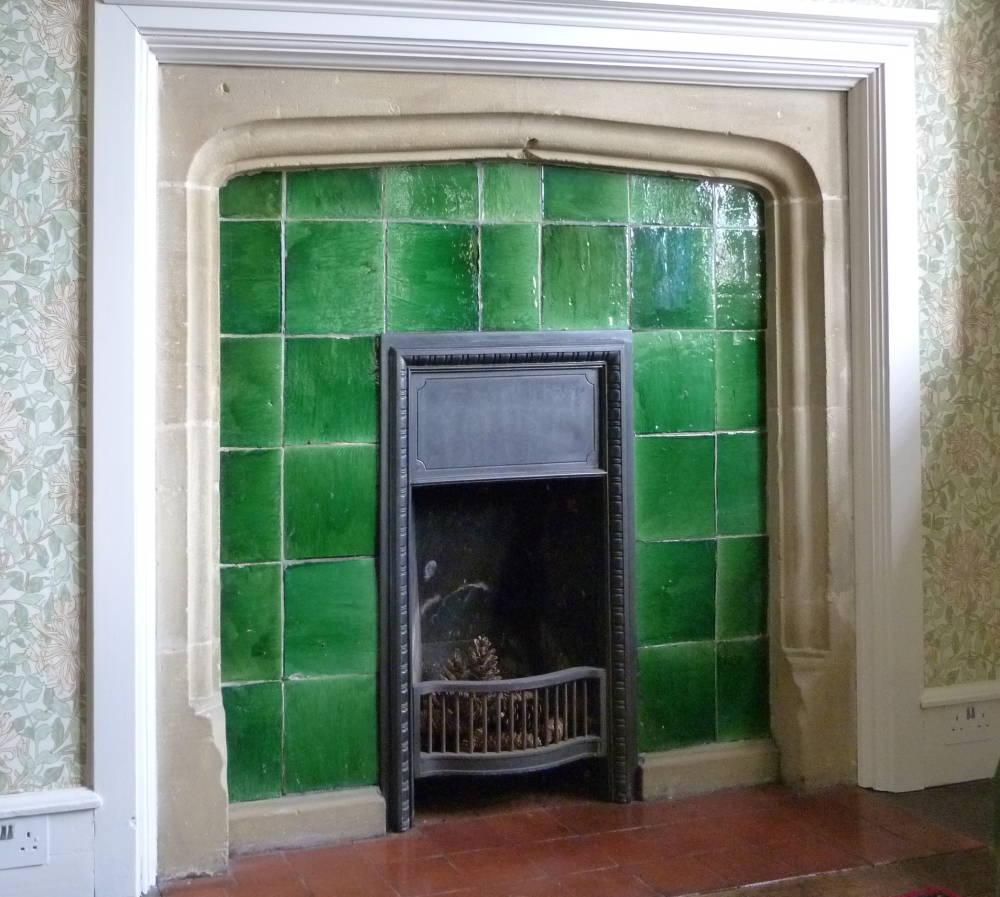 garrard plain glazed tiles in a