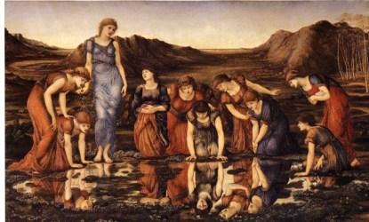 Blending Pre Raphaelite Aesthetics and Italian Renaissance Painting