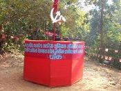 Entrada territorio naxalita. Guerra Popular India.