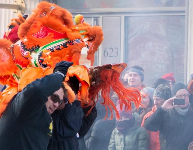 Firecracker dance