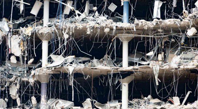 Washington Post demolition