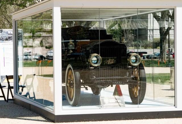 President Taft's limousine