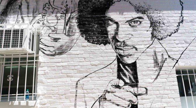 Ben's new mural