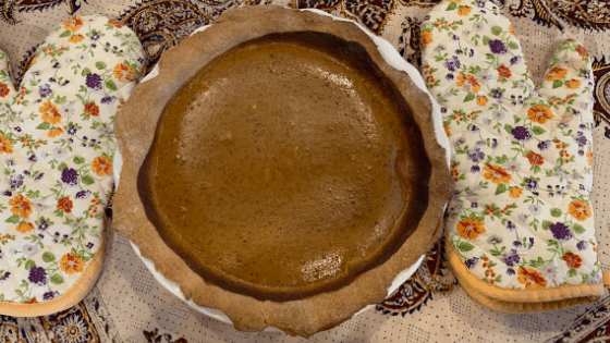 Pumpkin Pie Recipe from Scratch with health in mind