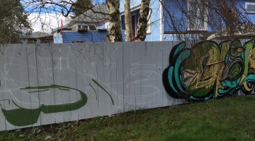 Fence painting as placemaking