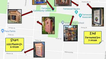 Little Free Library Walking Tour of Fernwood