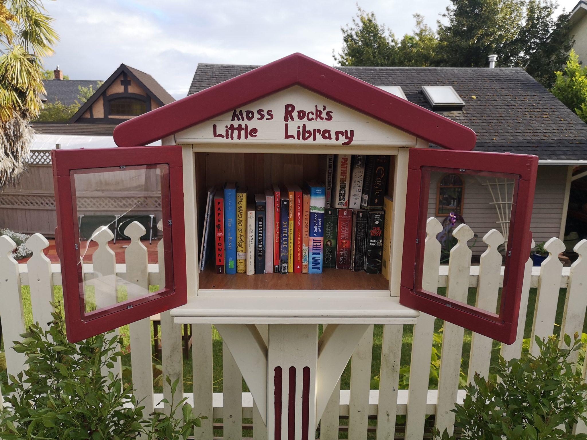 Moss Rock's Little Library 2
