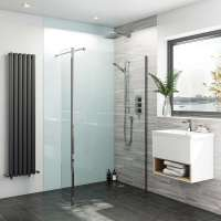 Bathroom acrylic wall panels | VictoriaPlum.com
