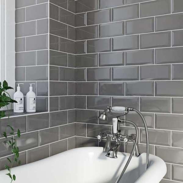 metro tiles bathroom ideas Different ways to use Metro Tiles | VictoriaPlum.com