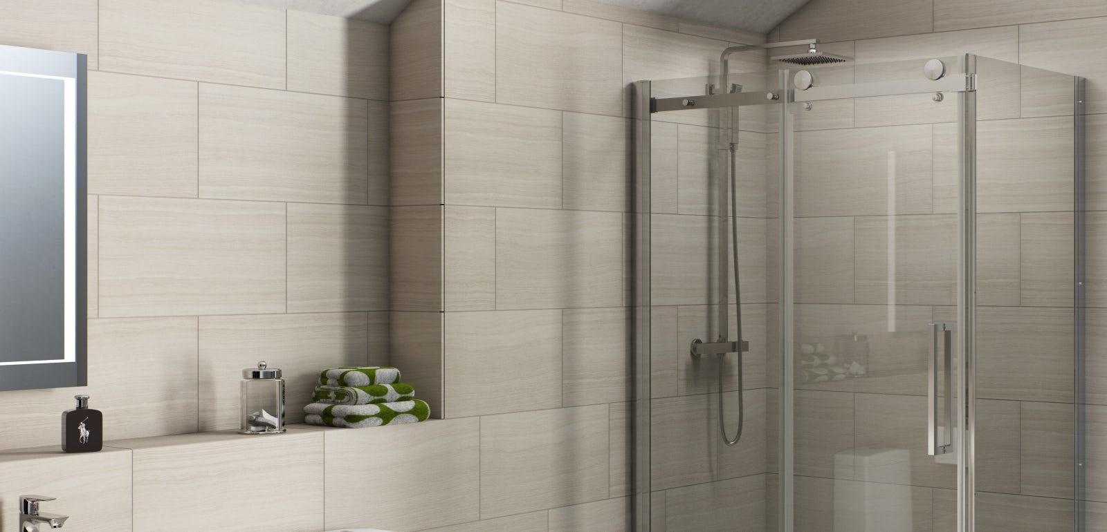 How to Fit a Shower Enclosure  VictoriaPlumcom