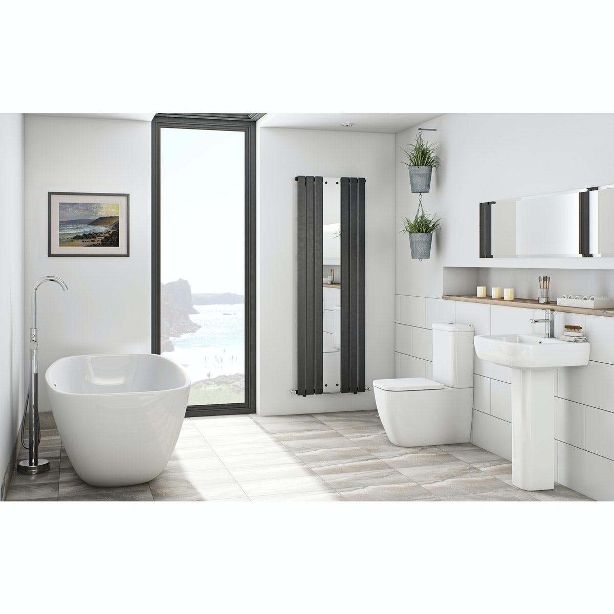 Mode Ellis bathroom suite with freestanding bath  VictoriaPlumcom