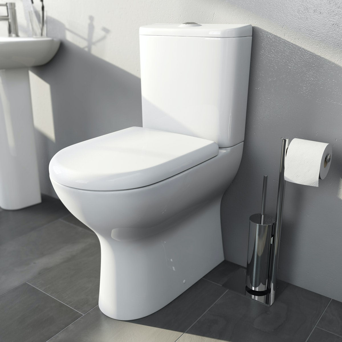 Chair Height Toilets Mode Heath Comfort Height Close Coupled Toilet With Soft