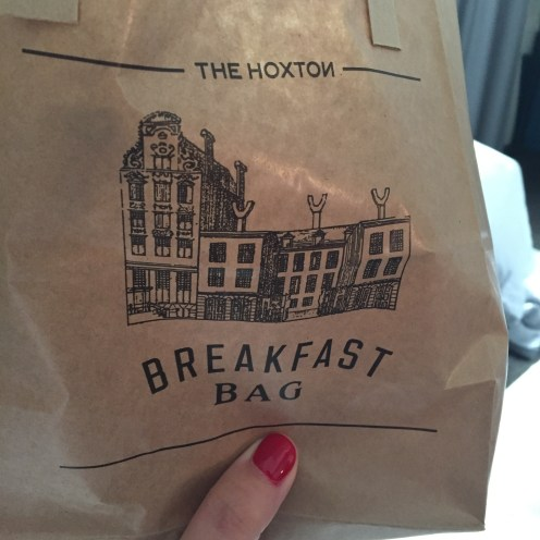 Breakfast bag