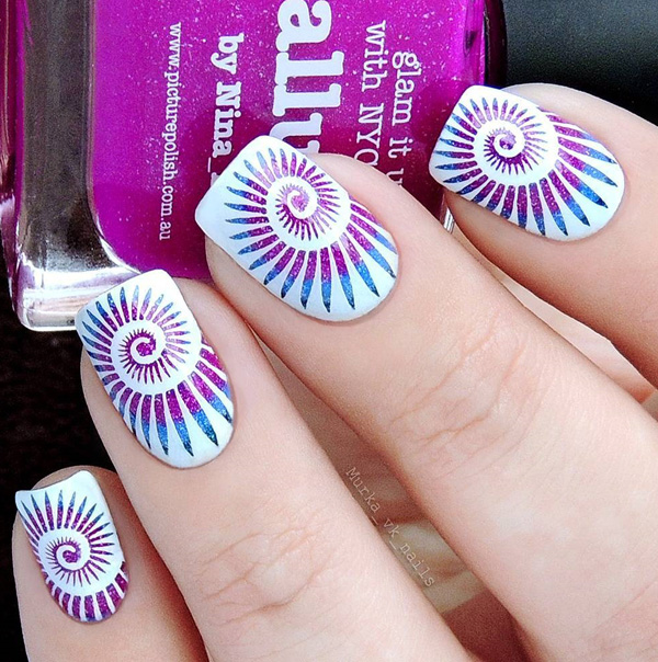Sit Back And Relax Prepare Yourself To Be Inspired By These Simple Yet Cly Multi Colored Nail Art Designs