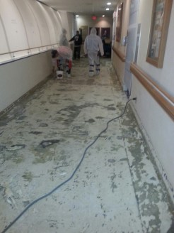 3N Flooring Replacement - During