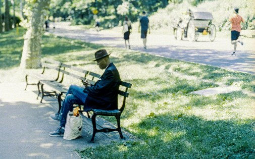 Leica M6, 50mm Summicron, Ektar. Shot in Central Park