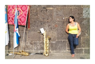 Woman and a Trombone