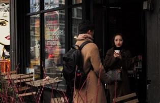 Coffee shop on Bowery Street