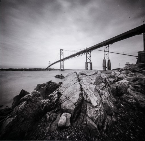 Reality So Subtle 6X6F Pinhole, Yellow Filter, Ilford PanF50