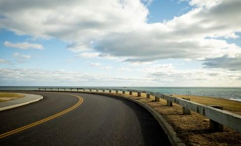 Ocean Drive, Newport, Ricoh GRIII