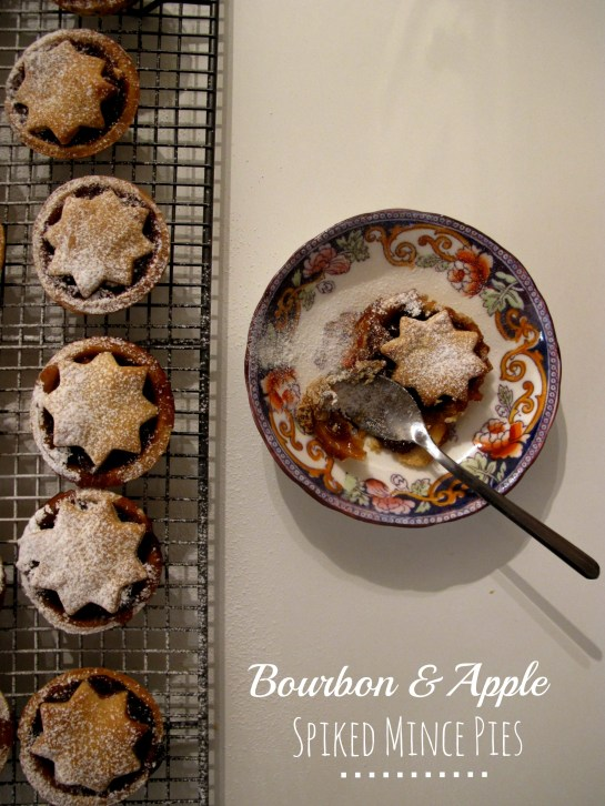 Bourbon and Apple Spiked Mince Pies