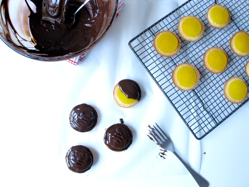 Homemade Orange and Cardamom Jaffa Cakes