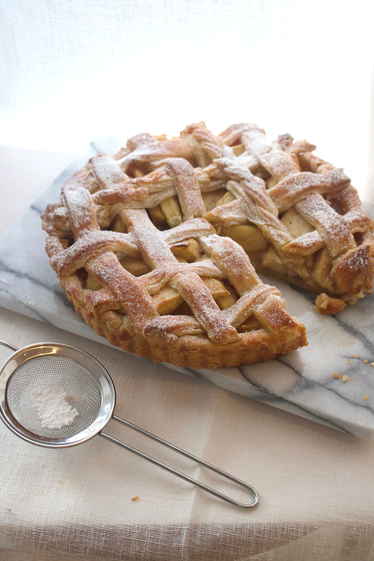 Spiced Apple Lattice Pie