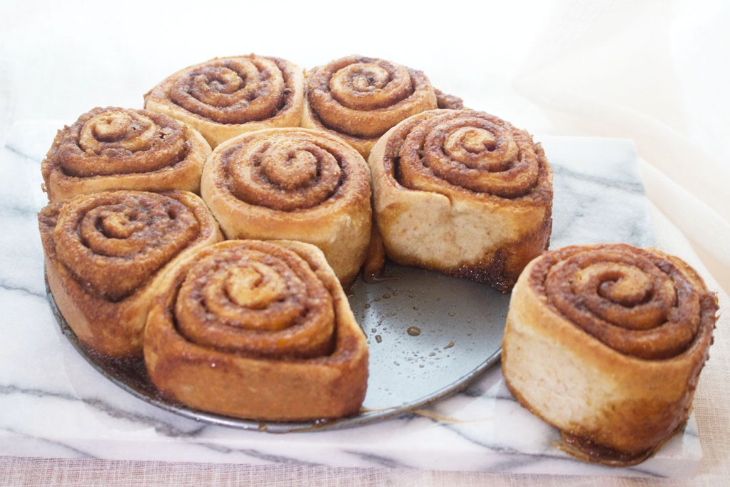 Vegan Coconut and Cinnamon Rolls
