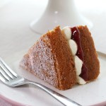 Classic Victoria Sponge with jam and buttercream // VSPP