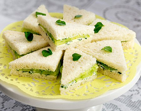 Recipes - Traditional Cucumber Sandwich (1/4)