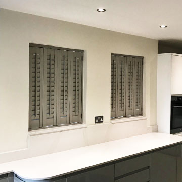 kitchen shutters american standard faucet repair recent jobs stone grey georgia tilt rod have a look at our installation of plantation that match this design perfectly