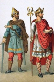 medieval cloak