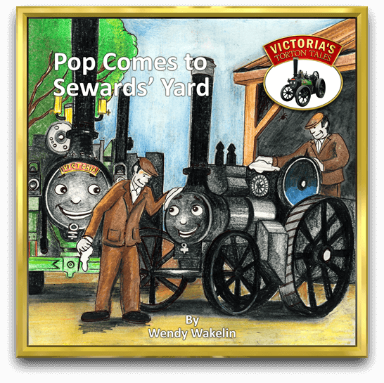 Cover of Pop Comes to Sewards' Yard, children's story book