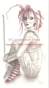 Emilie Autumn Created with Pencils and Pencil Crayons